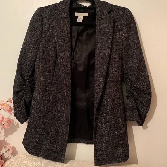 H&M tweed jacket SZ 8